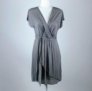 Loft chic gray dress size small